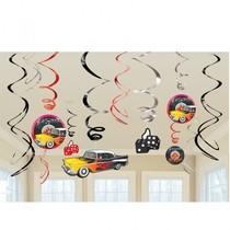 Závěsné dekorace Classic 50´ 12ks 90cm