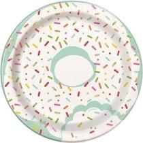 Donut talíře 8ks 17 cm