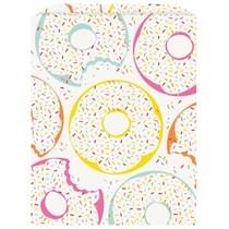 Donut papírové sáčky 8 ks 16 cm x 22 cm