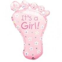 It's a Girl ! fóliový balónek 82 cm x 58 cm
