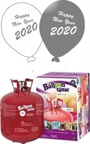 Helium Balloon time 50, Happy New Year balónky Metallic mix 25ks