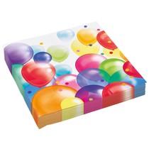 Ubrousky balónky 20 ks 33 cm x 33 cm