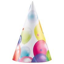 Čepičky balónky 8 ks