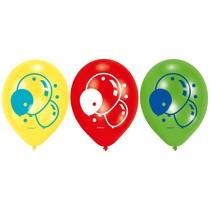 Balónky balónky 6 ks 22,8 cm