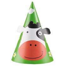 Kráva čepičky 8 ks 16,2 cm