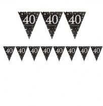 Vlajka 40. narozeniny 4 m