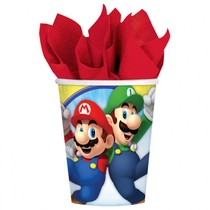 Super Mario kelímky 8ks 250ml