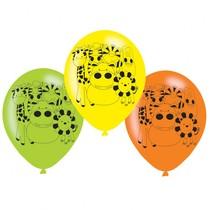 Safari balónky 6 ks 22,8 cm
