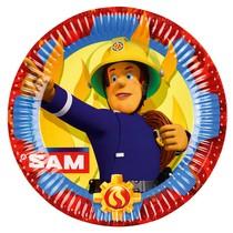 Požárník Sam talíře 8 ks 22,8 cm