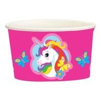 Jednorožec kelímky na zmrzlinu 8 ks