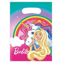 Barbie taška na dárek 8 ks, 16 cm x 23 cm