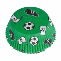 Fotbal košíčky na muffiny 48 ks