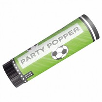 Vystřelovací konfety fotbal 2 ks 15 cm