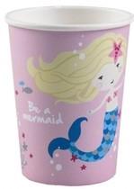Mořská panna kelímky růžové 8 ks 250 ml