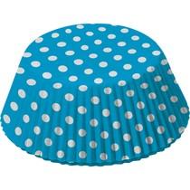 Košíčky na muffiny modré 48 ks