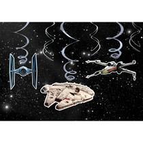 Star Wars závěsné dekorace 6 ks