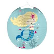 Lampion mořská panna 25 cm