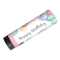 Vystřelovací konfety narozeniny 2 ks 15 cm