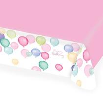 Ubrus narozeniny balónky 115 cm x 175 cm