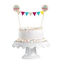 Dekorace na dort narozeniny 15 cm x 20 cm
