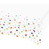 Ubrus konfety papírový 115 cm x 175 cm