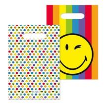 Smiley World taška papírová 8ks 16 cm x 24 cm