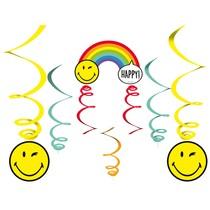 Smiley World závěsné dekorace 6 ks 130 cm