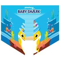 Baby Shark pozvánky na narozeniny 8 ks