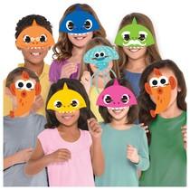 Baby Shark masky 8 ks