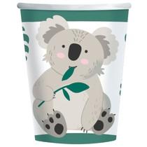 Koala kelímky papírové 8 ks 250 ml