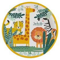 Safari talíře 8 ks 22,8 cm