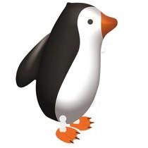 Tučňák chodící balónek 57 cm x 47 cm