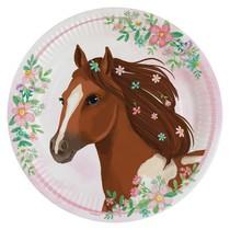 Kůň talíře papírové 8 ks 22,8 cm