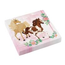 Koně ubrousky 20 ks 33 cm x 33 cm