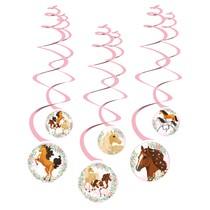 Koně závěsné dekorace 6 ks
