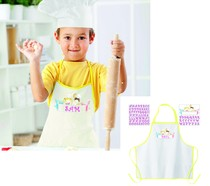 Malí kuchaři zástěra 50cm x 34cm + samolepka