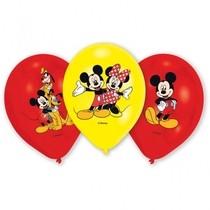 Mickey Mouse balonky 6ks 27,5cm