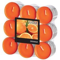 Vonné svíčky Orange 18 ks