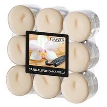 Vonné svíčky Sandalwood-Vanilla 18 ks