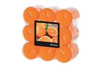 Vonné svíčky Orange 18 ks 6 hodin