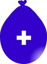 Balónek znak + modrý