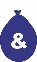 Balónek znak & modrý