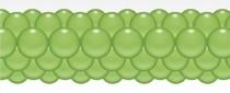 Balónková girlanda limetková zelená 3 m