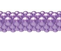 Balónková girlanda chrom fialová 3 m