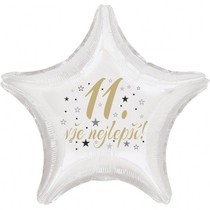 11. narozeniny balónek hvězda