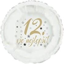 12.narozeniny balónek kruh