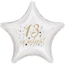 13.narozeniny balónek hvězda