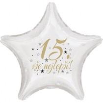 15. narozeniny balónek hvězda