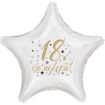 18. narozeniny balónek hvězda