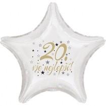 20. narozeniny balónek hvězda